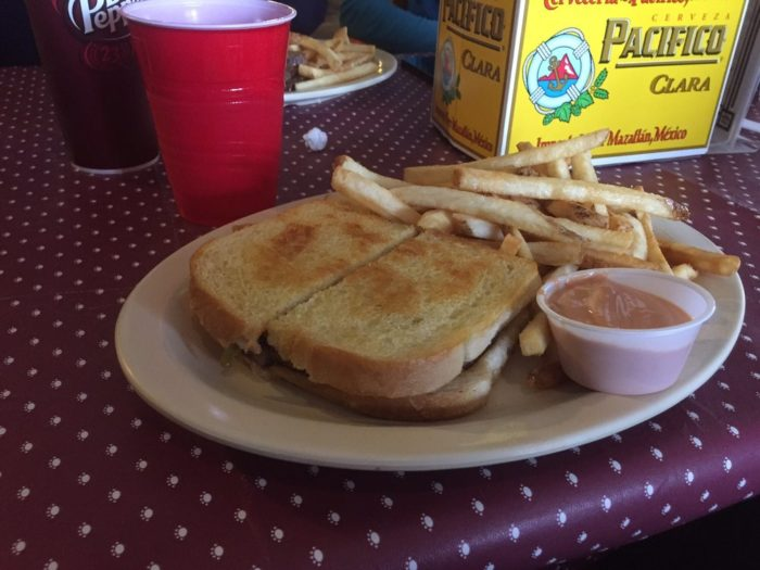 """The restaurant has a full menu of delicious items and fries made by """"the awesome God of French fry making"""" according to one Yelper."""