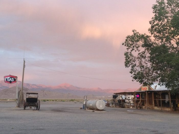 Time your visit just right and you may even be able to ride off into a famous Nevada sunset.