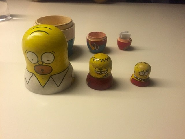 Every tiny detail is done right at minibar right down to the Simpsons characters holding your check.