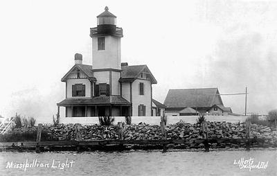 The Mispillion River Lighthouse was one of a group of five lighthouses built in Delaware between 1764 and 1831.