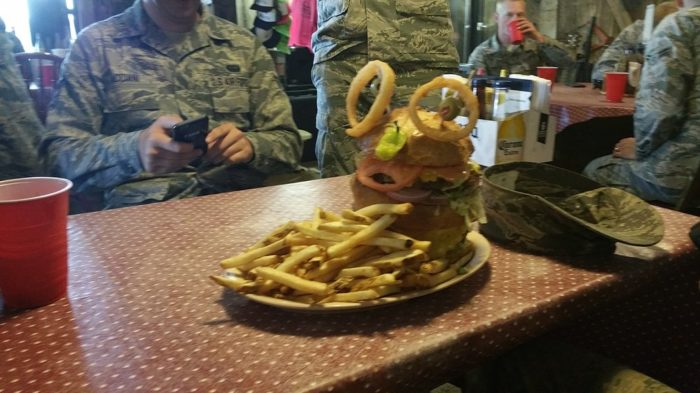 Nowadays, Middlegate Station is known for its Monster Burger. Eat it all in one sitting and owners Fredda and Russell Stevenson will give you a free T-shirt.