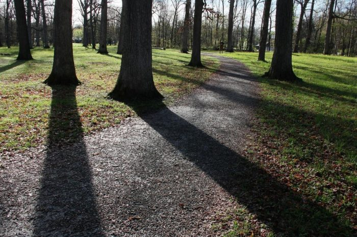 3. Mounds State Park Trail