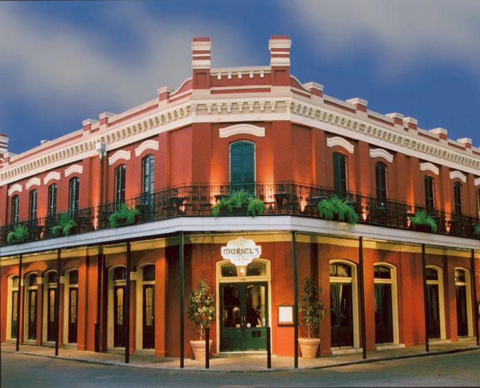 3) Muriel's Restaurant, 801 Chartres St.