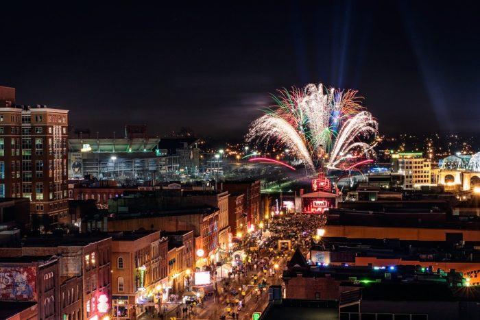 10. A bit of Nashville celebratory brilliance.