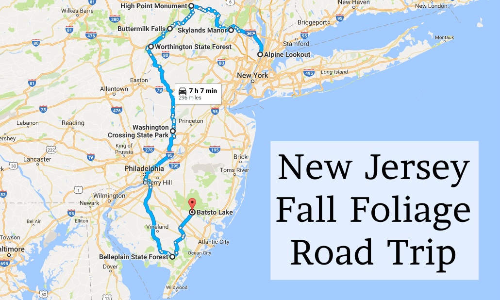 2016 new jersey fall foliage road trip for East coast road trip from new york