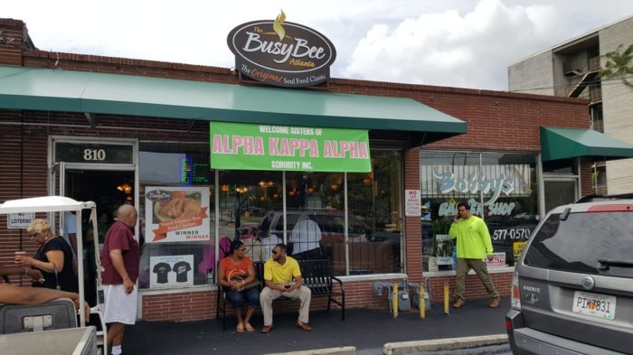 2. Busy Bee Café— 810 Martin Luther King Jr Dr, Atlanta, GA 30314
