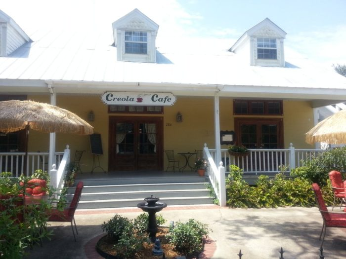 4. Creola Café, 248 Martin L King Rd., Grand Coteau