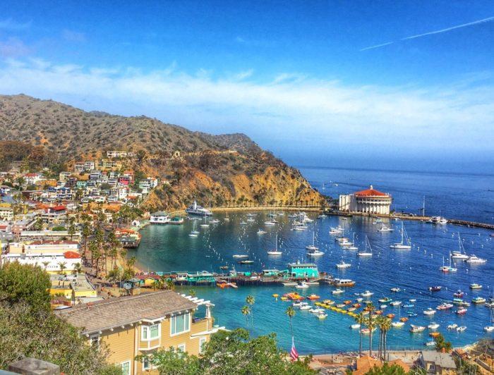 9. Avalon in Catalina Island