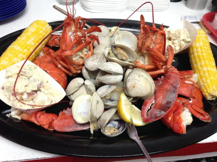 From lobsters and oysters at the Raw Bar to house smoked BBQ, you'll have a hard time choosing what to eat!
