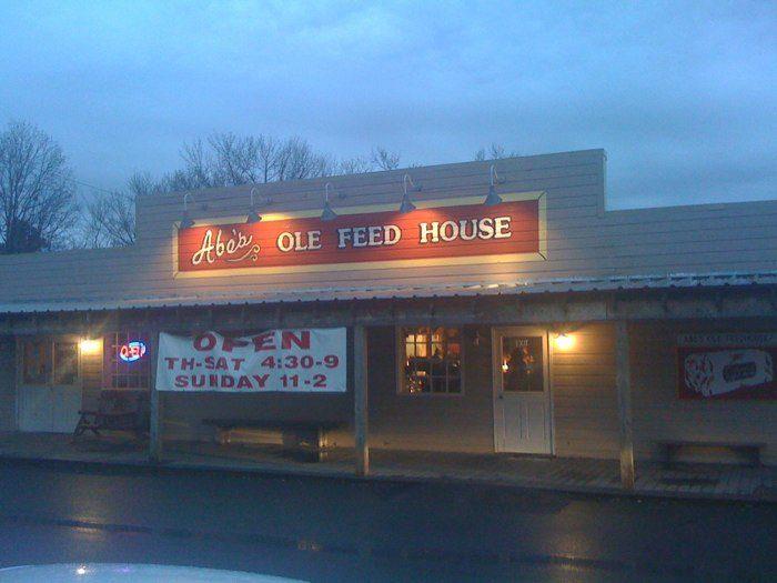 6. Abe's Ole Feed House (Benton)