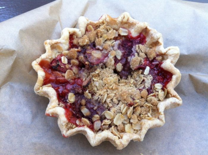 Or how about some strawberry rhubarb pie?
