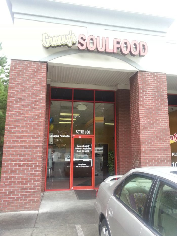 6. Granny's Soul Food— 1355 Blair Bridge Rd, Austell, GA 30168