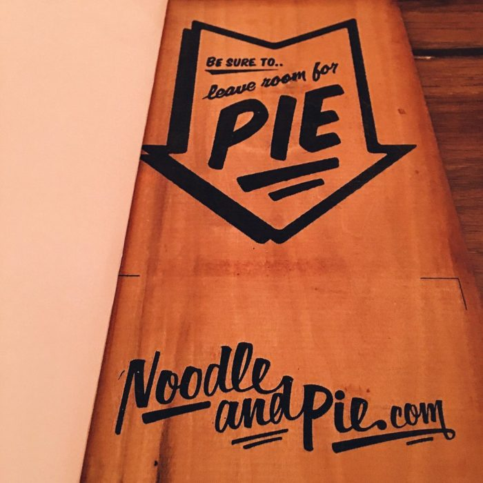 6) Noodle & Pie, 741 State St.