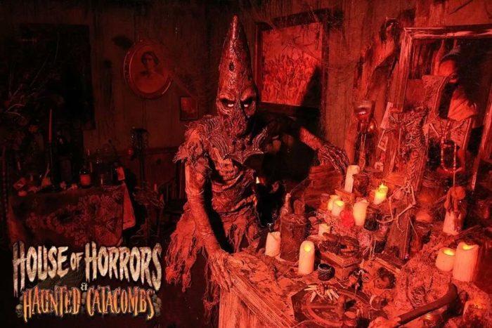 5. House of Horrors & Haunted Catacombs - Cheektowaga