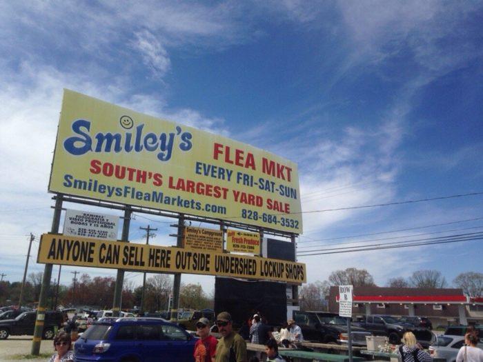 Smiley S Is The Best Flea Market In North Carolina