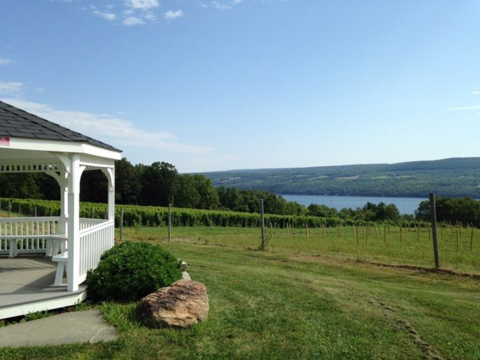 The area features the Seneca Lake Wine Trail, drawing in many thirsty visitors throughout the year.
