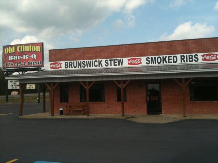 8. Old Clinton Bar-B-Q—2645 North Columbia St. Milledgeville, GA 31061