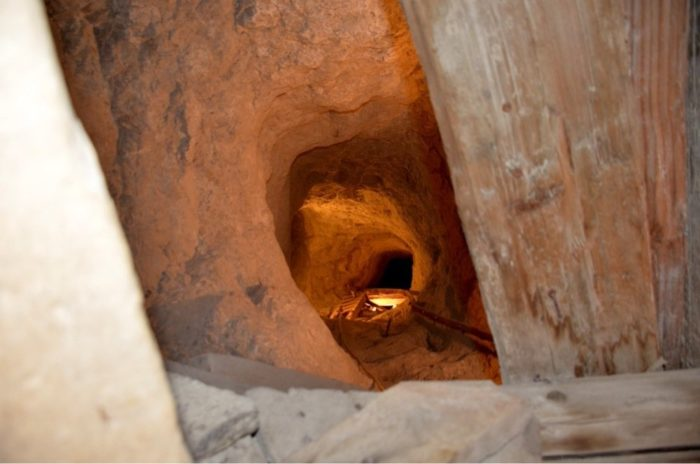 It's is approximately one hour long; you'll travel about 1/4 mile into the mine.