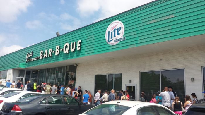 What many consider to be the best BBQ restaurant in the entire state, if not the country, Joe's Kansas City Bar-B-Que locations are worth the long lines.