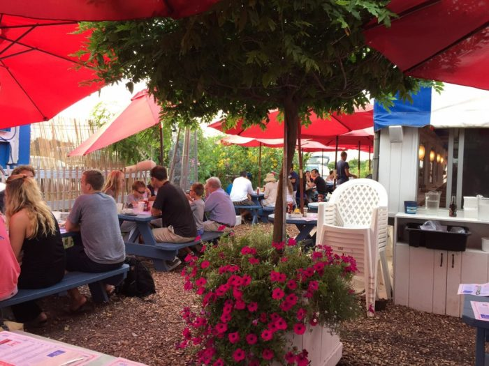 Located in Amagansett, the Lobster Roll was purchased back in 1965 and features both indoor and outdoor dining.