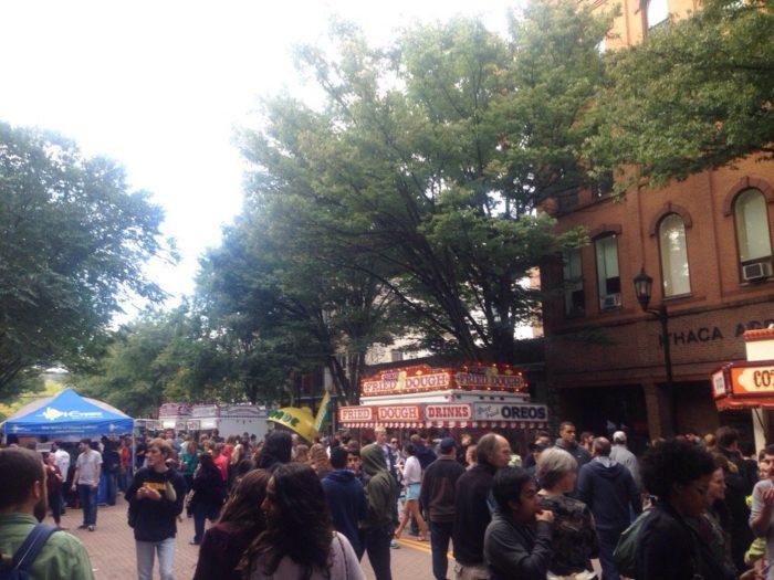 7. Ithaca Apple Harvest Festival