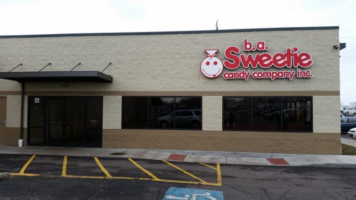 With an inventory of more than 4,500 different items valued at $2,000,000, you really won't find a better candy selection than at b.a. Sweetie Candy Company.