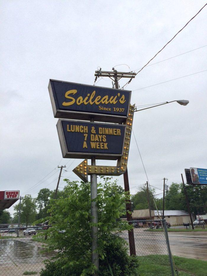 2. Soileau's Dinner Club, 1618 N. Main St., Opelousas