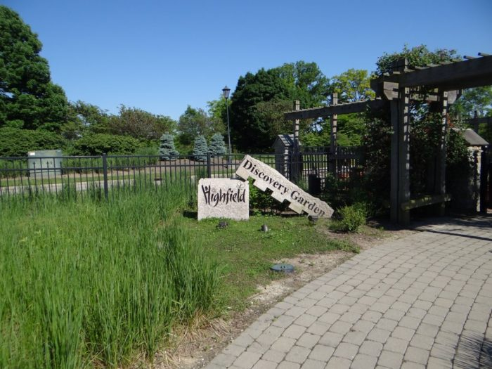 Although there is a small entrance fee, the Discovery Garden is a great way for kids to explore the grounds and learn about gardening.