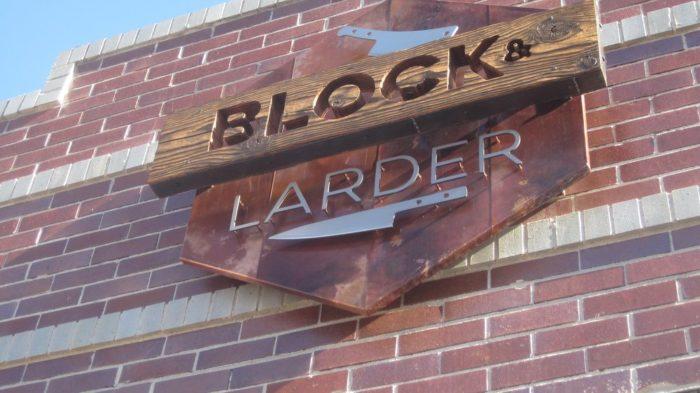 7. Block & Larder