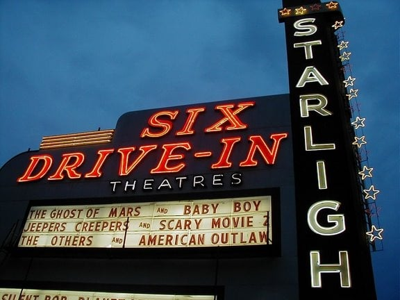 3. Catch a Flick at Starlight Drive-In Theater