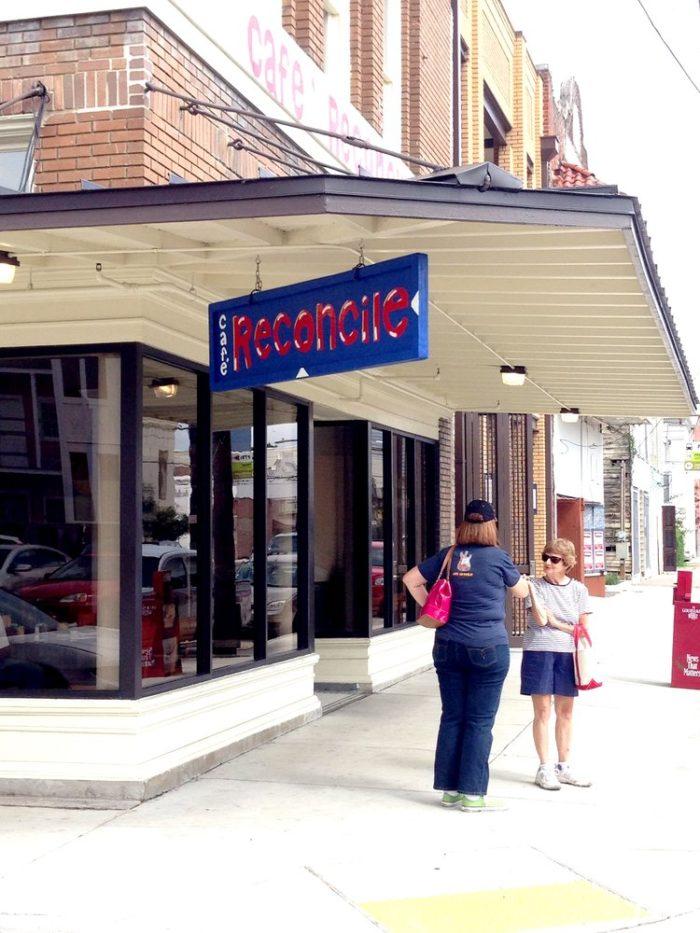 7) Café Reconcile, 1631 Oretha C Haley St.