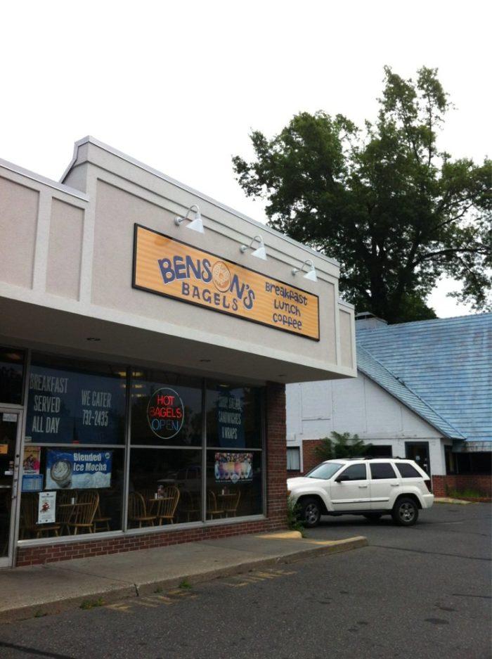 4. Benson's Bagels, Springfield