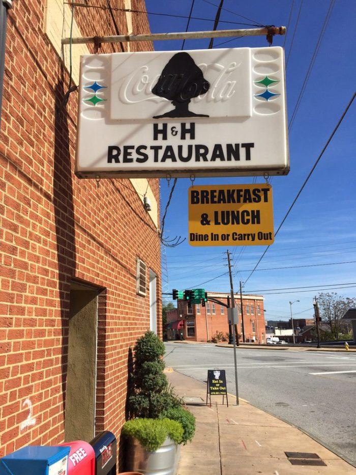 9. H&H Restaurant—807 Forsyth St Macon, GA 31201