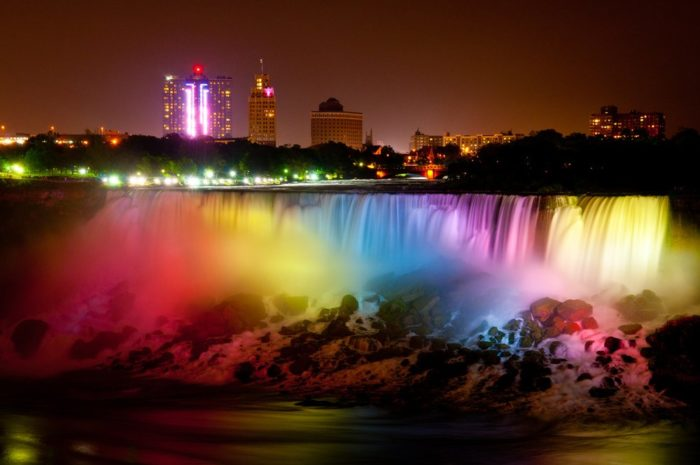 4. See Niagara Falls like you never have before and enjoy a date night with our famous waterfalls and fireworks.