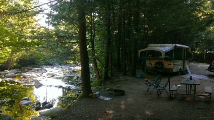 6. Lost River Valley Campground, North Woodstock