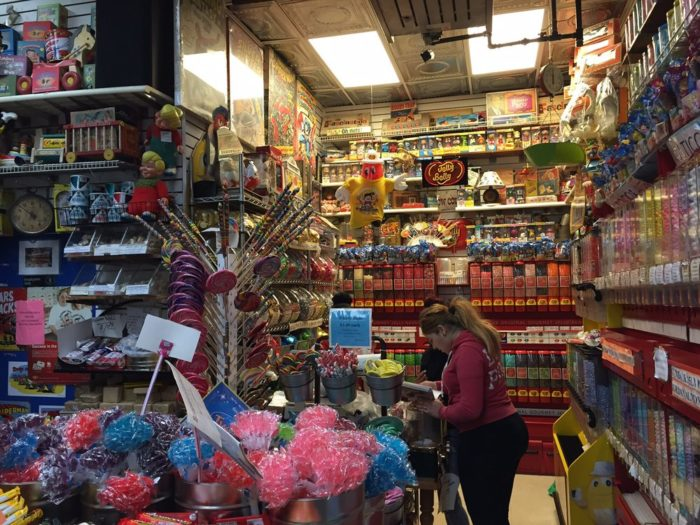With a huge variety of products in this candy shop, you won't know where to begin!