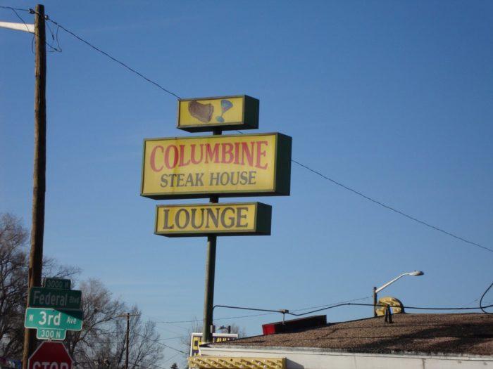 1. Columbine Steak House & Lounge