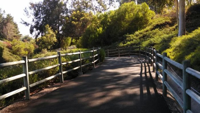 Whether you're a walker or a jogger, this well-maintained trail will make your feet happy as it's a smooth hike along the entire route with picture-perfect paved paths.