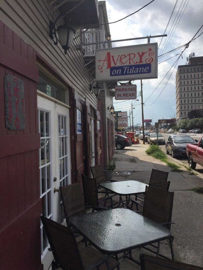 1) Avery's, 2510 Tulane Ave.