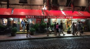Thousands of people walk by this massive candy store everyday, with most not being able to pass up a trip inside.