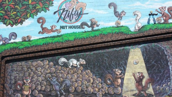 Established in 1937, the state treasure known as the Nifty Nut House  has served the Wichita community through its three generations of friendly customer service and unbeatable prices.