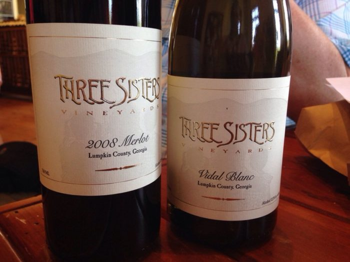 6. Snag Yourself a Glass of Wine at Three Sisters Vineyards
