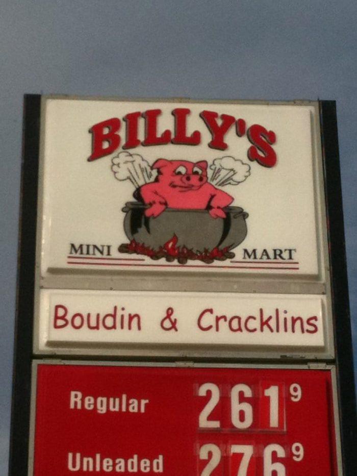 8. Billy's Diner, 24467 Hwy 190, Krotz Springs