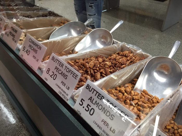 Did we mention the 123 different types of nuts?