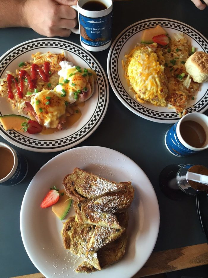 They serve breakfast and lunch to get your day started on the right foot.