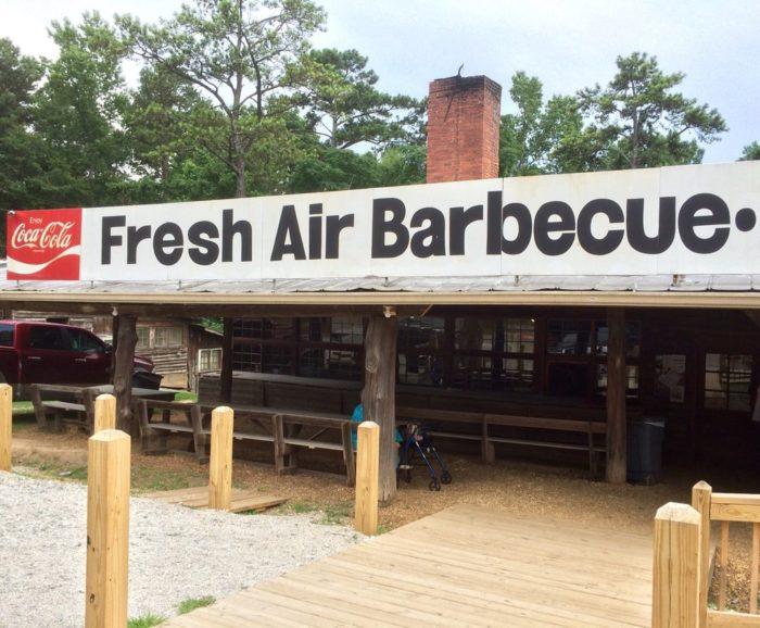 1. Fresh Air Barbecue—1164 Hwy 42 S Jackson, GA 30233