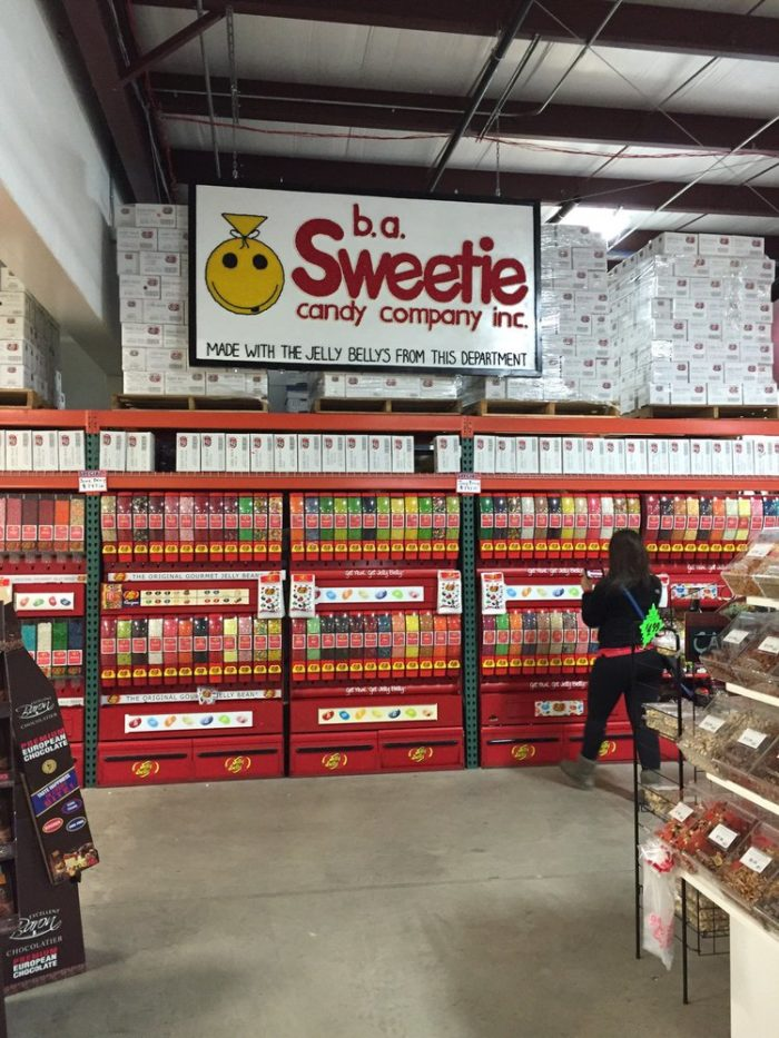 Any type of candy you could ever want or imagine is here. (And it's probably even sold in bulk.)