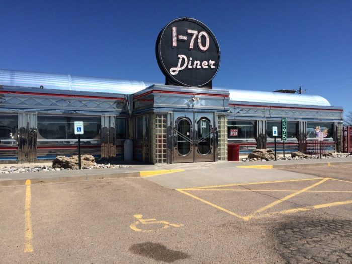 Located in the Eastern Plains town of Flager, the nostalgic I-70 Diner is home to everything you love about old-fashioned 1950s diners including a retro exterior (complete with neon lights)...