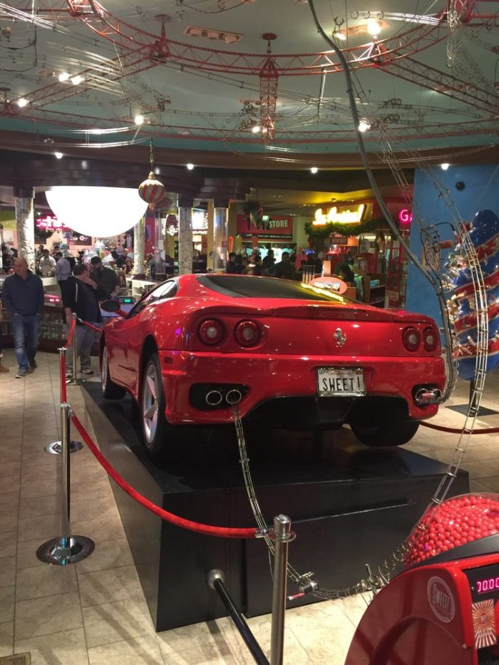 A Ferrari? Or a gumball machine?