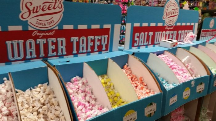You can take as little or as much as your heart desires, as individual candies are also sold here.